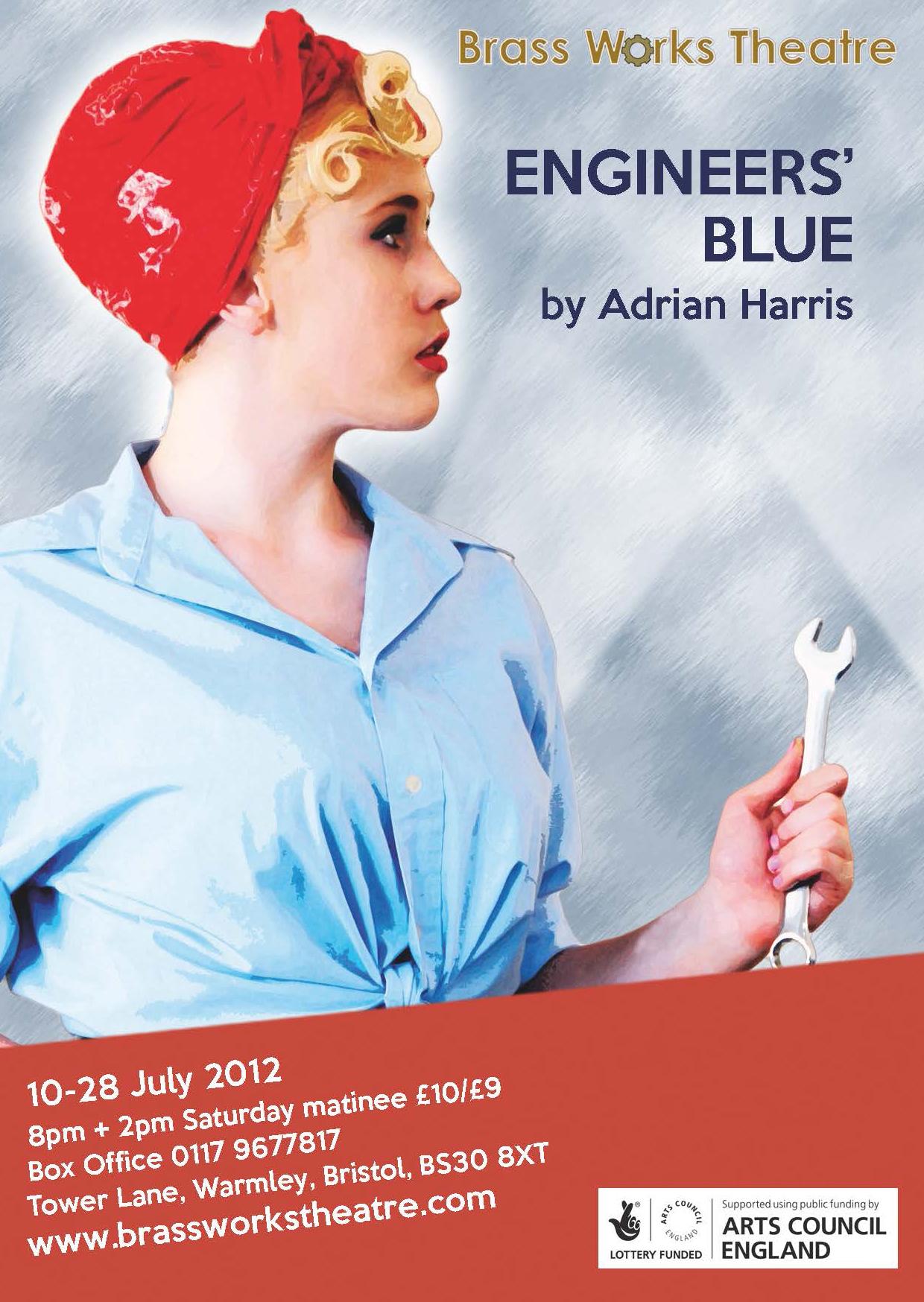 Engineers' Blue by Adrian Harris