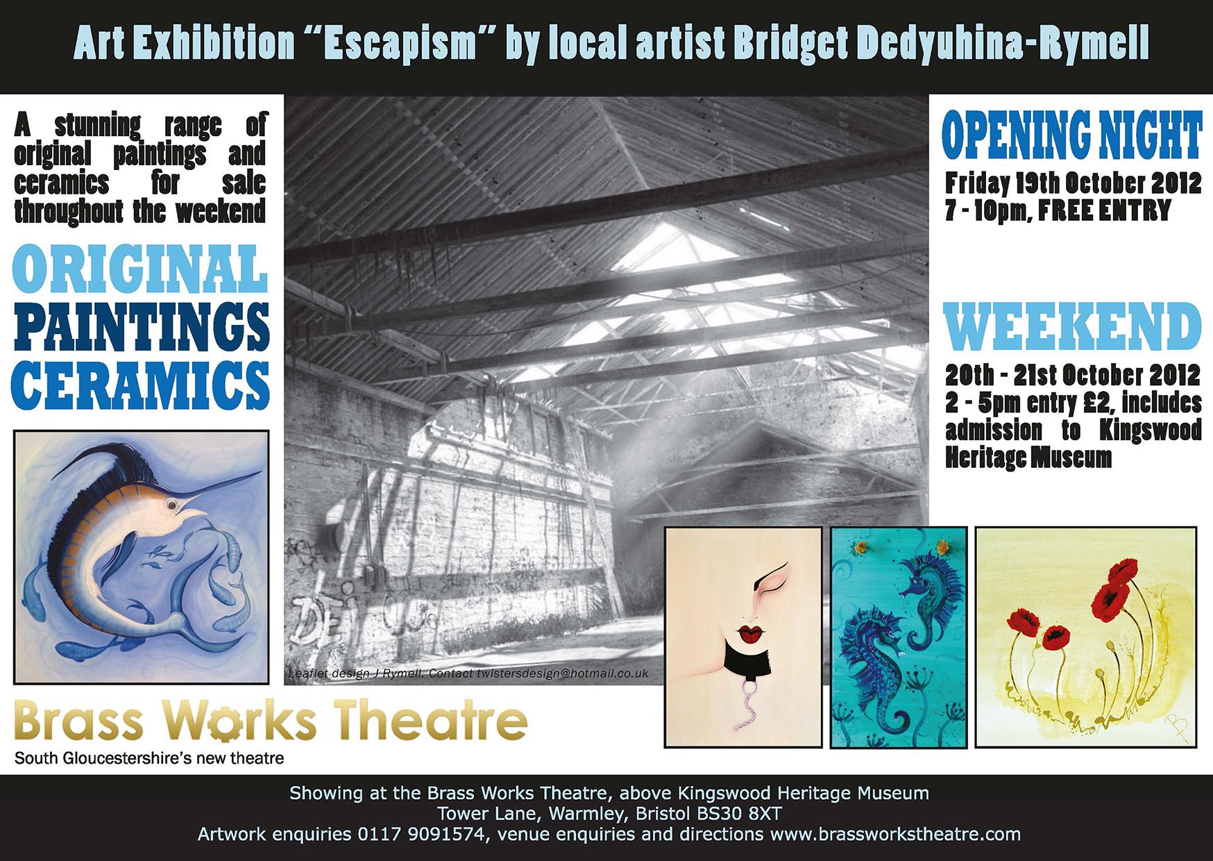 Escapism by Bridget Dedyuhina-Rymell